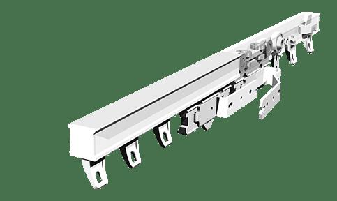 Rail pour rideaux lourds CS