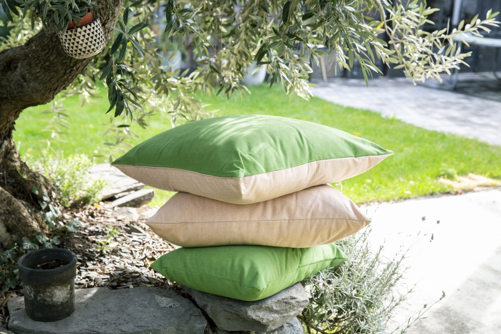 Coussins outdoor Sunbrella sur-mesure