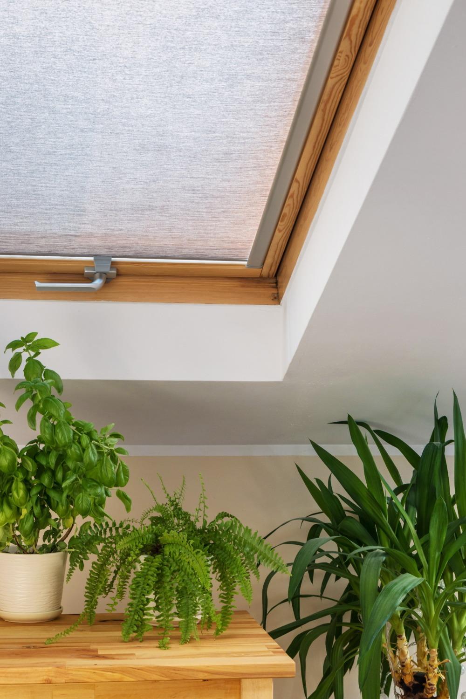 Store fenêtre de toit Skylight Paris 01