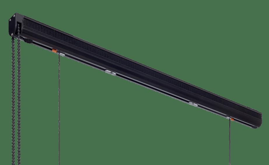 Store bateau Noir Rail 5900 Subdéco
