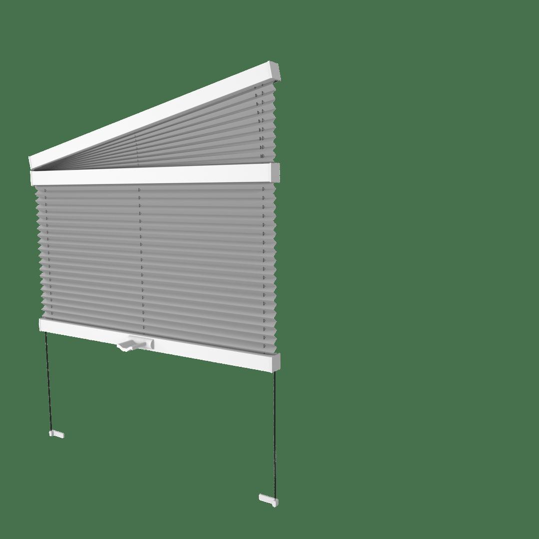 Store plissé droit et trapèze cosiflorVS3