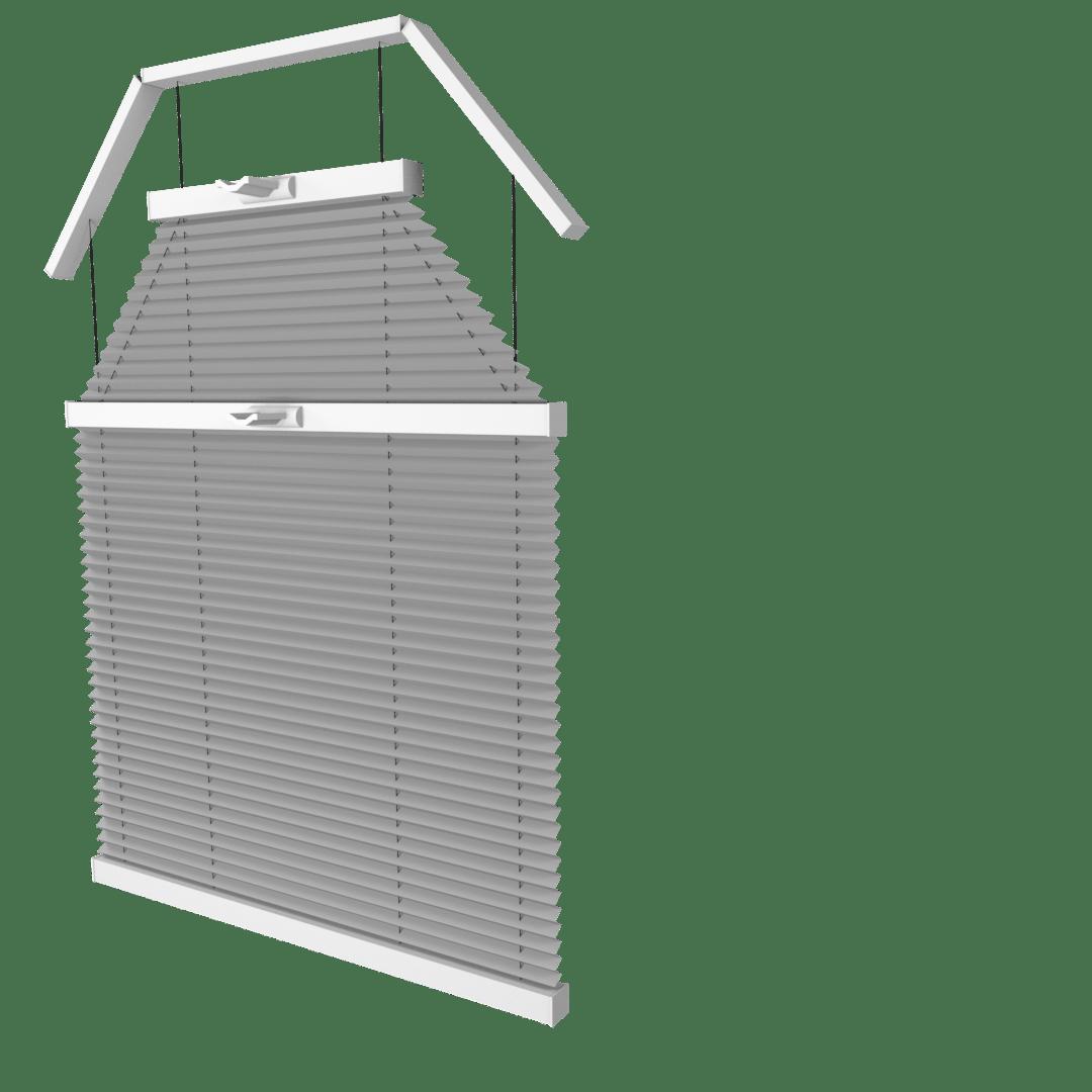 Store plissé sur mesure Cosiflor trapèzeVS6