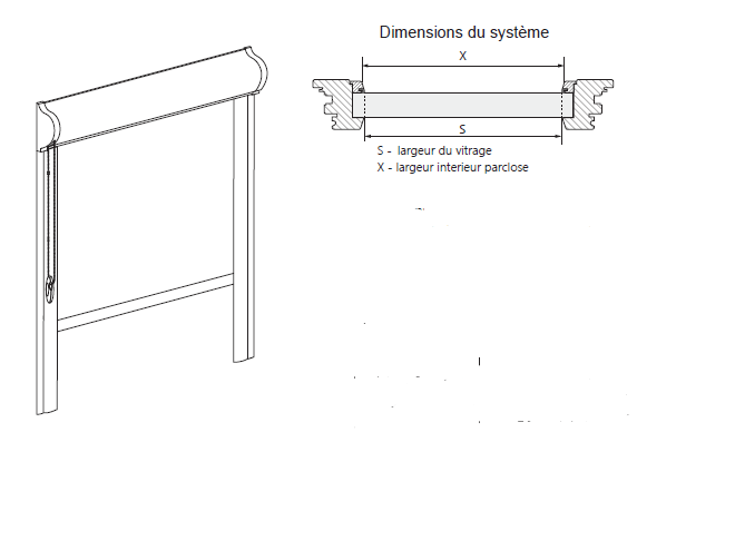 schéma store Uni 19 mm