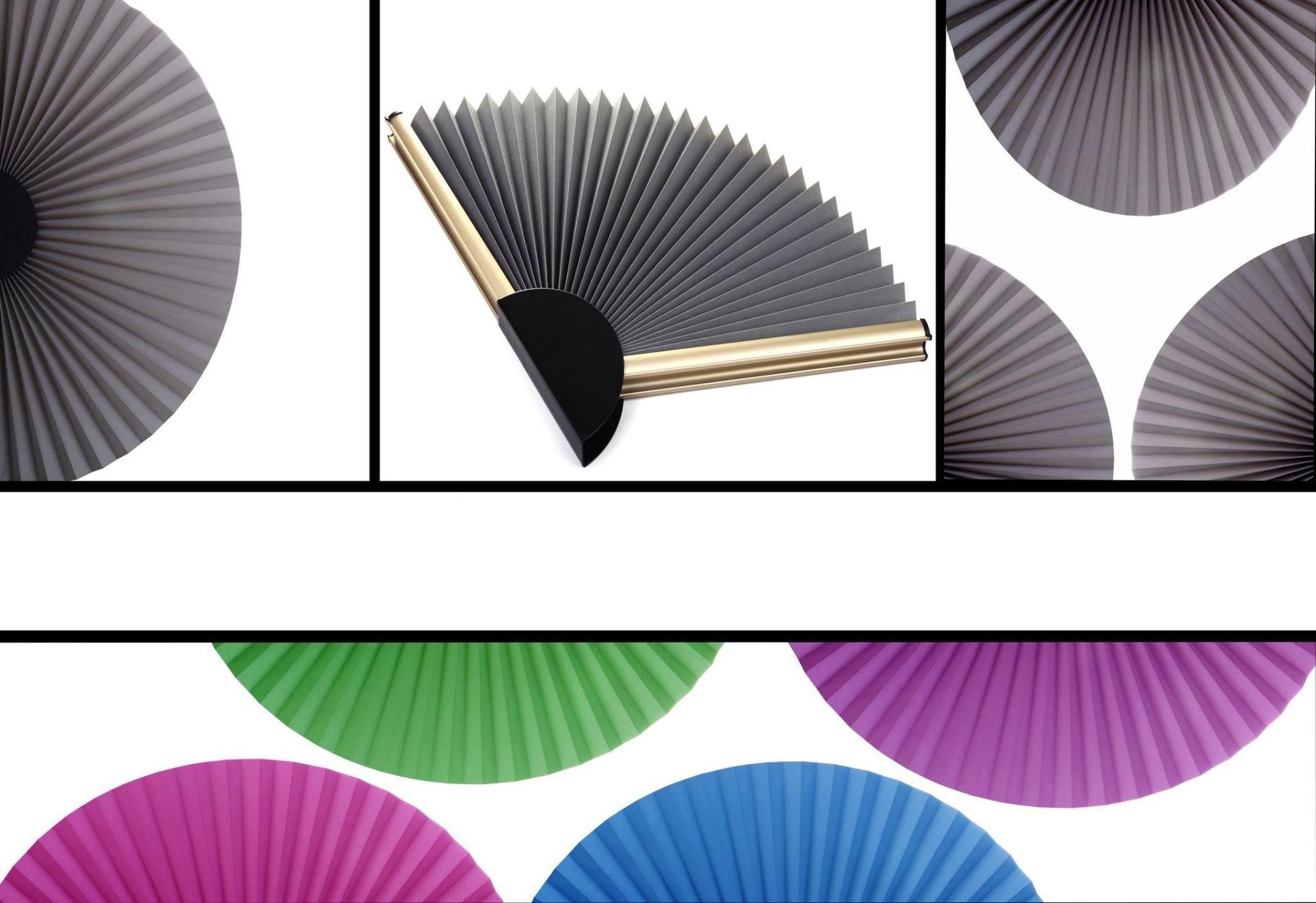 Stores plissés forme rond sur mesure