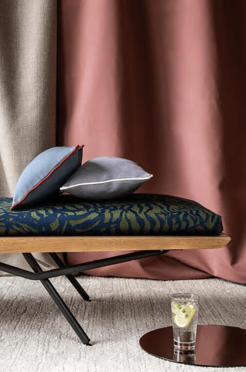 Dickson collection textile ameublement